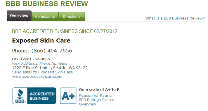 The Better Business Bureau Report on Exposed