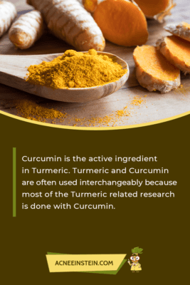 Curcumin and Turmeric are often used interchangeably