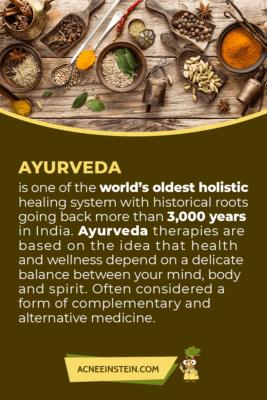 Ayurveda - a holistic healing system