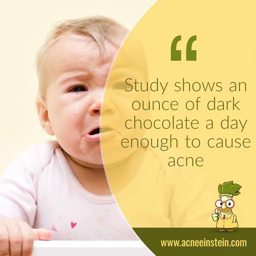 dark-chocolate-cause-acne-quote