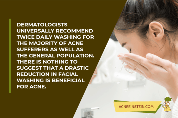 Dermatologists recommend you wash your face twice a day!